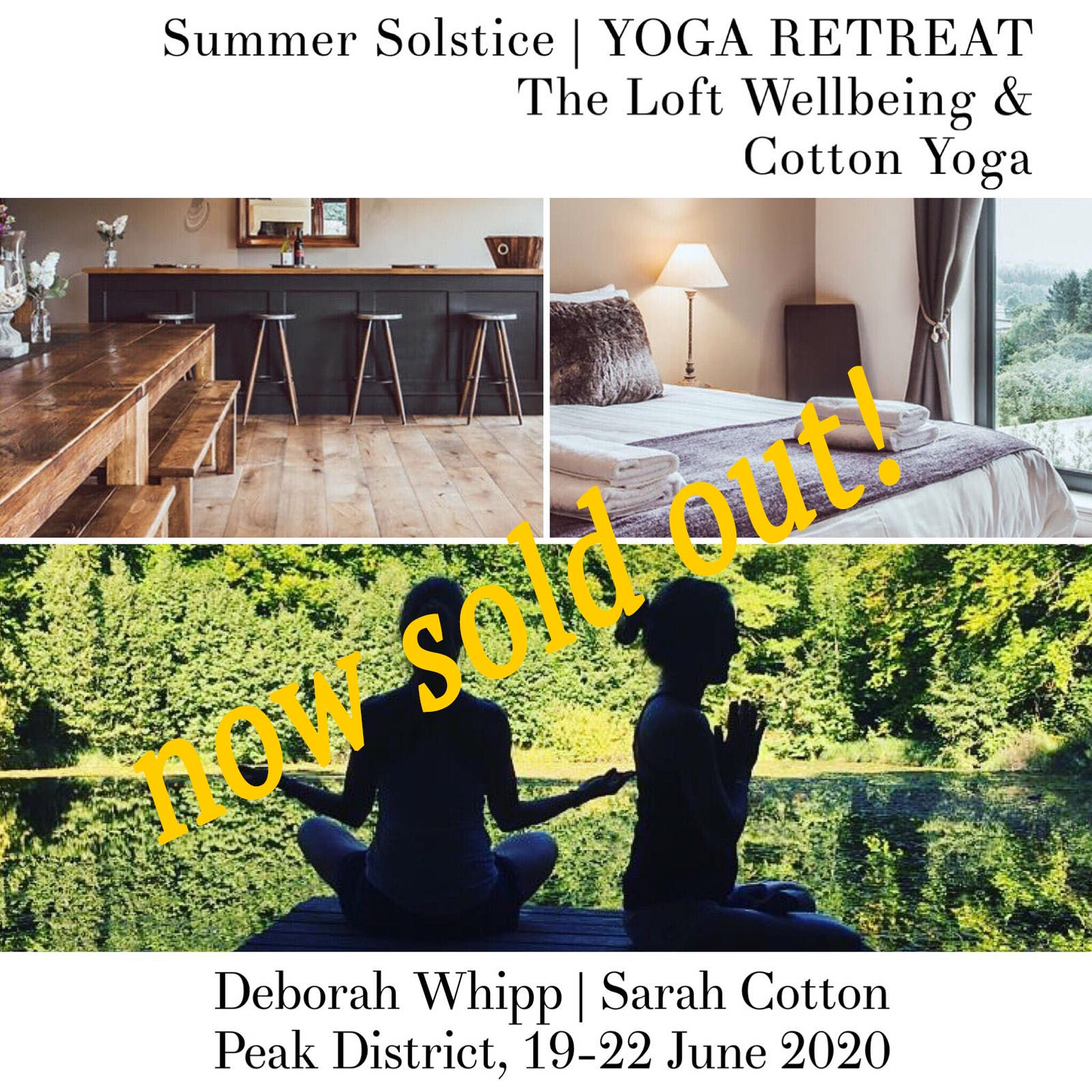 Summmer Solstice Yoga Retreat 2020